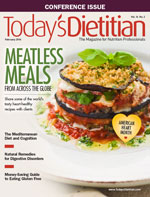 Today's dietitian cover