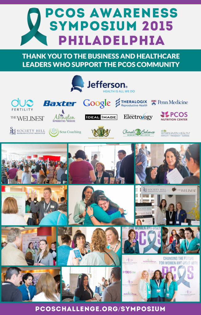 PCOS challenge philly 2015 collage