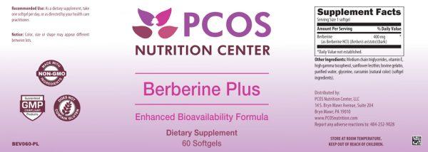 Berberine label pcos