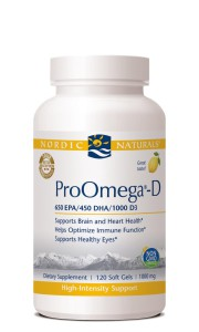Nordic ProOmega D 120 ct bottle image