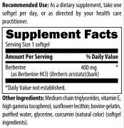 Berberine ingredients