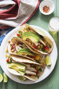summer fish tacos