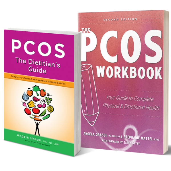 pcos dietitian guide and PCOS Workbook