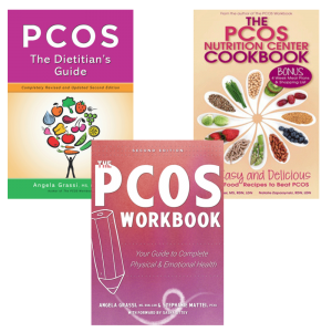 pcos workbook, pcos cookbook, pcos dietitian's guide