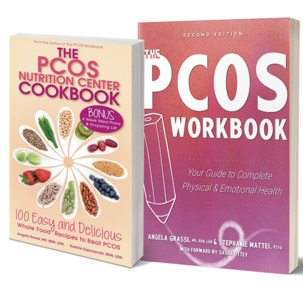 PCOS Workbook and PCOS Cookbook